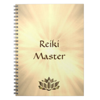 Carnet Conception de maître de Reiki
