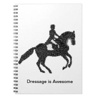 Carnet Conception de mosaïque de cheval et de cavalier de