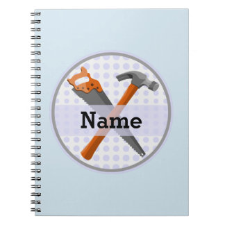 Carnet Conception personnalisée nommée d'outils pour des