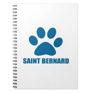 CARNET CONCEPTIONS DE CHIEN DE ST BERNARD