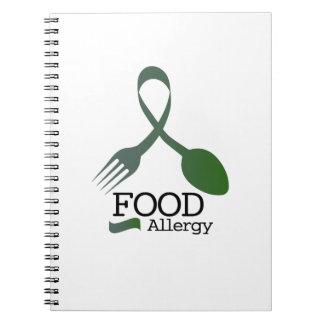 Carnet Conscience d'allergies d'allergie alimentaire