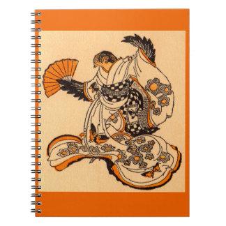Carnet Conte de fées japonais le moineau de coupe de
