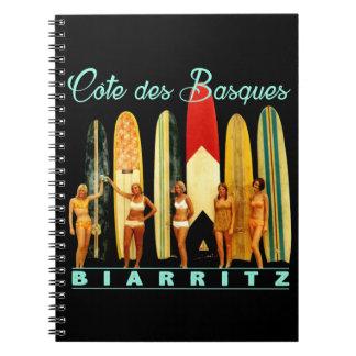 Carnet Côte des Basques Biarritz