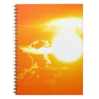 Carnet coucher du soleil 3