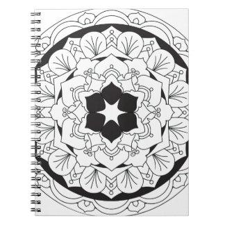 Carnet Couleur-Votre-Propre mandala floral 060517_4