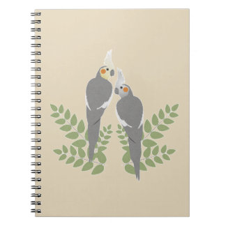 Carnet Couples de Cockatiel