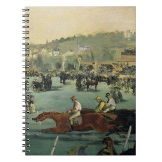 Carnet Course de chevaux de Manet |, 1872