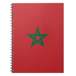 Carnet Coût bas ! Drapeau du Maroc