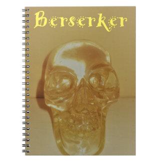 Carnet Crâne de Berserker