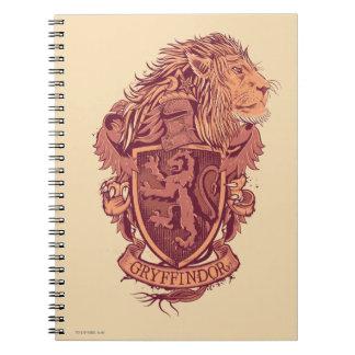 Carnet Crête de lion de Harry Potter | Gryffindor