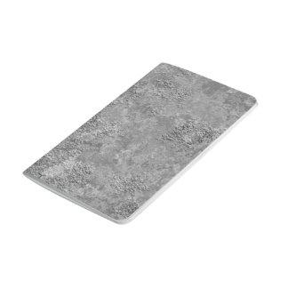 Carnet cru gris de Moquerie-Texture de