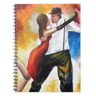 Carnet Danse au rêve coloré d'amants de tango d'aube !