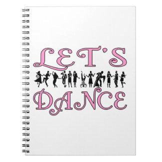 Carnet Dansons les couples de danse