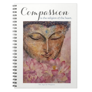 Carnet d'aquarelle de Bouddha d'inspiration de
