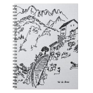 Carnet d'Asco rocailleux | Corse, France de Val