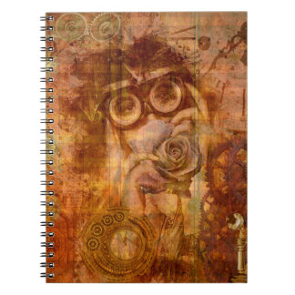 Carnet de collage de Steampunk