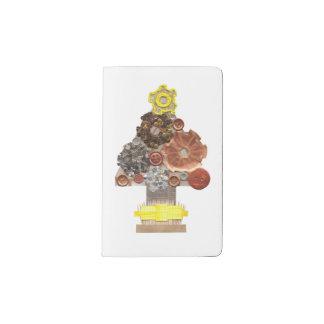 Carnet de coutume d'arbre de Noël de Steampunk