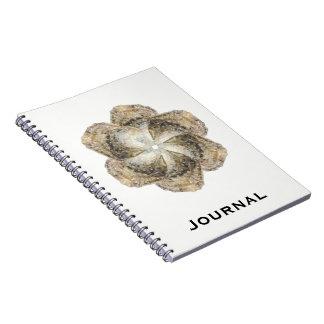 Carnet de fleur d'huître - blanc de la conception