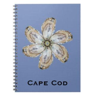 Carnet de fleur d'huître - concevez un bleu