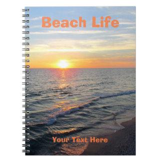 Carnet de la vie de plage