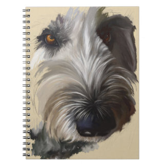 Carnet de Labradoodle - illustrations originales