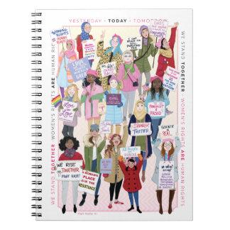 Carnet de mars des femmes