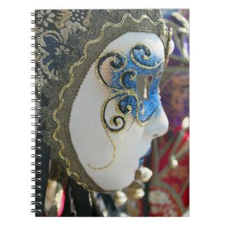 Carnet de masque de carnaval
