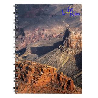 """Carnet de notes à spirale de canyon grand """"de"""