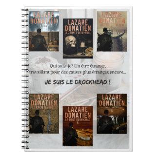 Carnet de notes Lazare Donatien