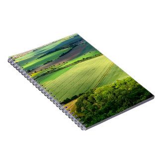 Carnet de panorama de nature