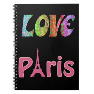 Carnet de Paris d'amour