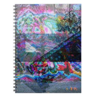 Carnet de photo avec la conception de mosaïque