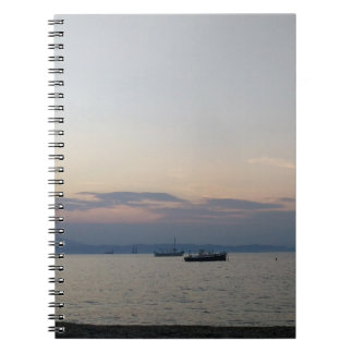 Carnet de photo de mer et de bateaux
