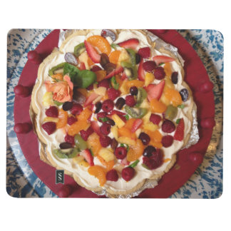 Carnet de pizza de fruit