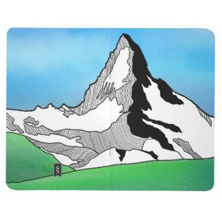 Carnet De Poche Aquarelle Matterhorn Suisse de schéma