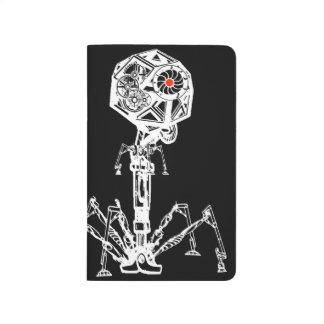 Carnet De Poche Bactériophage de Steampunk