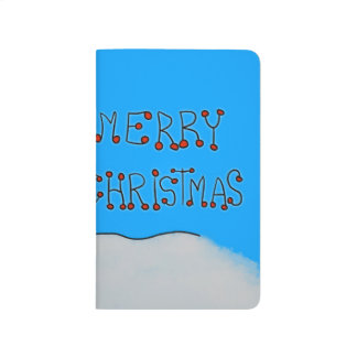 Carnet De Poche Bonhomme de neige de Joyeux Noël