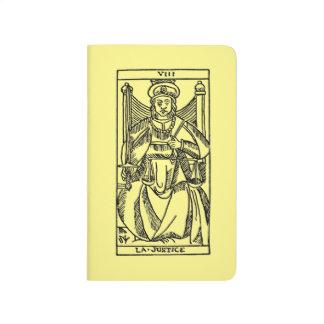 Carnet De Poche Carte de tarot : Justice