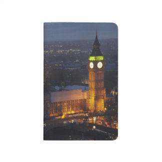 Carnet De Poche Chambres du Parlement, Big Ben, Westminster