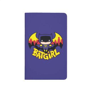 Carnet De Poche Chibi Batgirl avec l'horizon et le logo de Gotham