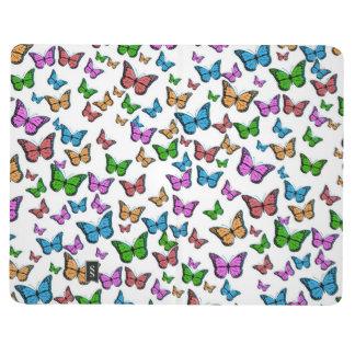 Carnet De Poche Conception de motif de papillons