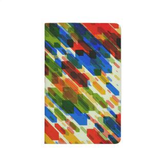 Carnet De Poche conception de regard fraîche géométrique abstraite