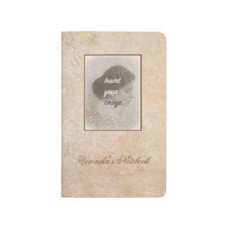 Carnet De Poche Conception vintage avec votre photo. Ajoutez votre