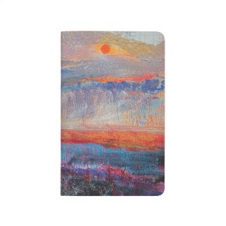 Carnet De Poche Coucher du soleil 2013 de marais