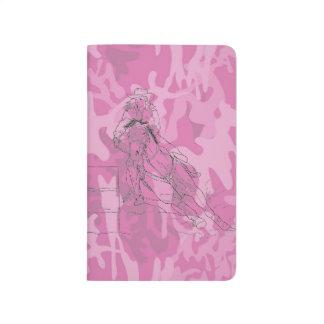 Carnet De Poche Coureur rose de baril de Camo