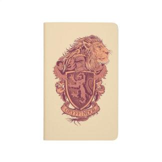 Carnet De Poche Crête de lion de Harry Potter | Gryffindor