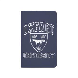 Carnet De Poche Crête d'université d'Oxfart