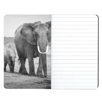 Carnet De Poche Éléphant africain et veaux | Kenya, Afrique