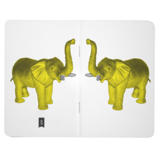 Carnet De Poche Éléphant jaune