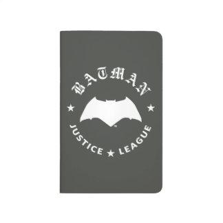 Carnet De Poche Emblème de batte de la ligue de justice rétro |